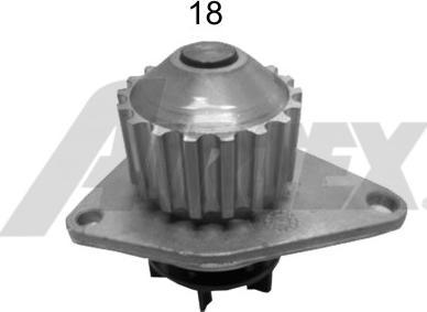 Airtex 1679 - Pompa wodna intermotor-polska.com