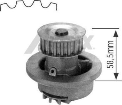 Airtex 1164 - Pompa wodna intermotor-polska.com