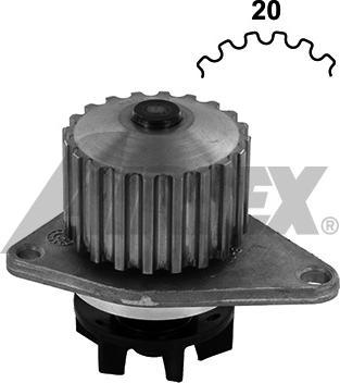 Airtex 1212 - Pompa wodna intermotor-polska.com