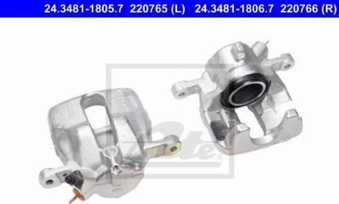 ATE 24.3481-1805.7 - Zacisk hamulca intermotor-polska.com
