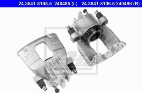 ATE 24.3541-8106.5 - Zacisk hamulca intermotor-polska.com