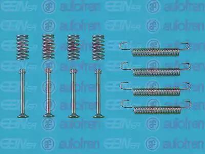 AUTOFREN SEINSA D3908A - Zestaw akcesoriów, szczęki hamulcowe hamulca postojowego intermotor-polska.com