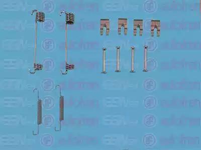 AUTOFREN SEINSA D3915A - Zestaw akcesoriów, szczęki hamulcowe hamulca postojowego intermotor-polska.com