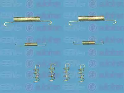 AUTOFREN SEINSA D3916A - Zestaw akcesoriów, szczęki hamulcowe hamulca postojowego intermotor-polska.com