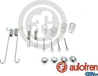 AUTOFREN SEINSA D31046A - Zestaw akcesoriów, szczęki hamulcowe hamulca postojowego intermotor-polska.com