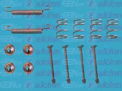 AUTOFREN SEINSA D3899A - Zestaw akcesoriów, szczęki hamulcowe hamulca postojowego intermotor-polska.com