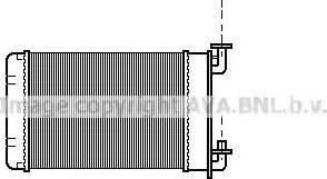 Ava Quality Cooling BW6022 - Wymiennik ciepła, ogrzewanie wnętrza intermotor-polska.com