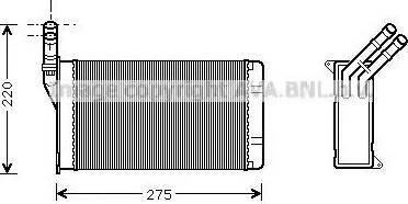 Ava Quality Cooling CN6082 - Wymiennik ciepła, ogrzewanie wnętrza intermotor-polska.com