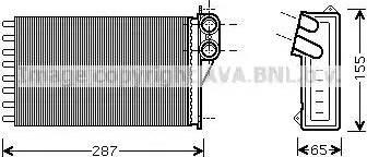 Ava Quality Cooling CNA6232 - Wymiennik ciepła, ogrzewanie wnętrza intermotor-polska.com
