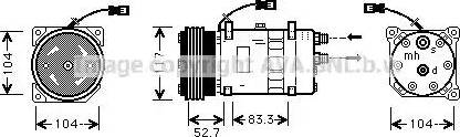 Ava Quality Cooling CNAK222 - Kompresor, klimatyzacja intermotor-polska.com