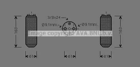 Ava Quality Cooling DND037 - Osuszacz, klimatyzacja intermotor-polska.com
