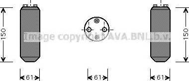 Ava Quality Cooling DND255 - Osuszacz, klimatyzacja intermotor-polska.com
