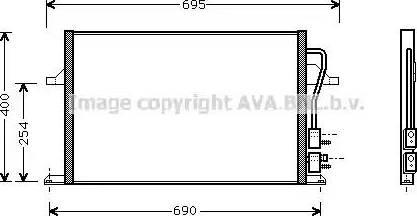 Ava Quality Cooling FD5259 - Skraplacz, klimatyzacja intermotor-polska.com