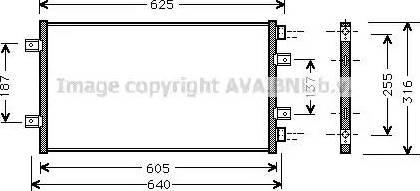 Ava Quality Cooling FT5247 - Skraplacz, klimatyzacja intermotor-polska.com