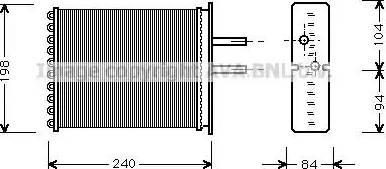 Ava Quality Cooling FT6193 - Wymiennik ciepła, ogrzewanie wnętrza intermotor-polska.com