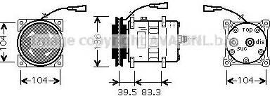 Ava Quality Cooling IVAK093 - Kompresor, klimatyzacja intermotor-polska.com