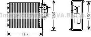 Ava Quality Cooling MSA6400 - Wymiennik ciepła, ogrzewanie wnętrza intermotor-polska.com