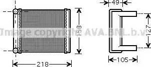 Ava Quality Cooling MSA6385 - Wymiennik ciepła, ogrzewanie wnętrza intermotor-polska.com
