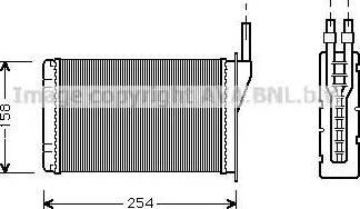 Ava Quality Cooling RT6087 - Wymiennik ciepła, ogrzewanie wnętrza intermotor-polska.com
