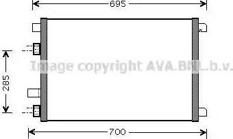 Ava Quality Cooling RTA5305 - Skraplacz, klimatyzacja intermotor-polska.com