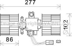 Ava Quality Cooling SA8022 - Silnik elektryczny, dmuchawa wnętrza intermotor-polska.com
