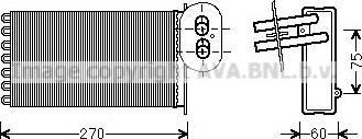 Ava Quality Cooling VN6296 - Wymiennik ciepła, ogrzewanie wnętrza intermotor-polska.com