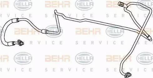 BEHR HELLA Service 9GS351338-051 - Linia wysokiego cisnienia, Klimatyzacja intermotor-polska.com