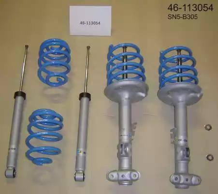 Bilstein 46-113054 - Zestaw zawieszenia, sprężyny żrubowe / amortyzatory intermotor-polska.com