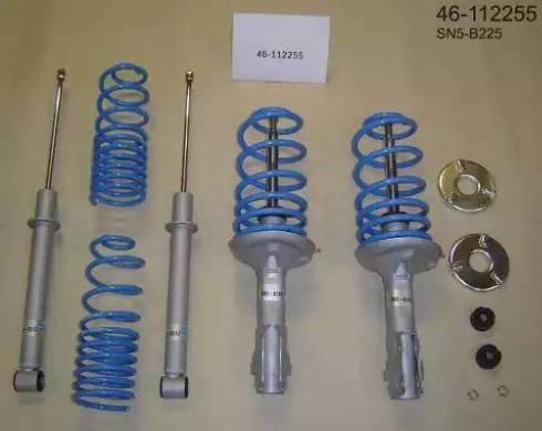 Bilstein 46-112255 - Zestaw zawieszenia, sprężyny żrubowe / amortyzatory intermotor-polska.com