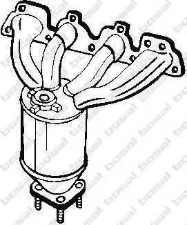 Bosal 099-458 - Katalizator intermotor-polska.com
