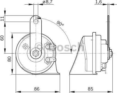 BOSCH 9 320 335 007 - Fanfara intermotor-polska.com