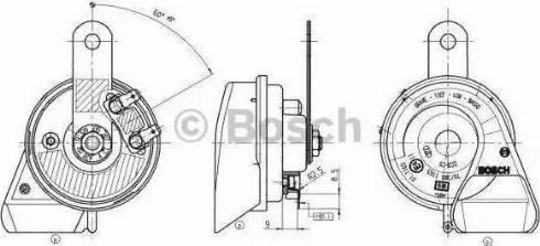 BOSCH 9 320 335 207 - Fanfara intermotor-polska.com