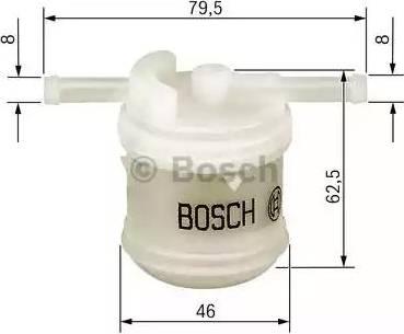 BOSCH 0 986 450 117 - Filtr paliwa intermotor-polska.com