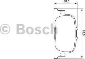 BOSCH 0 986 424 730 - Zestaw klocków hamulcowych, hamulce tarczowe intermotor-polska.com