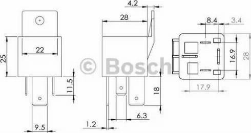 BOSCH 0 986 AH0 080 - Sterownik, czas żarzenia intermotor-polska.com