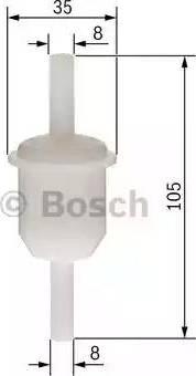 BOSCH 0 450 904 058 - Filtr paliwa intermotor-polska.com