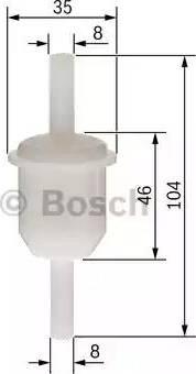 BOSCH 0 450 904 060 - Filtr paliwa intermotor-polska.com