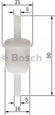 BOSCH 0 450 904 005 - Filtr paliwa intermotor-polska.com