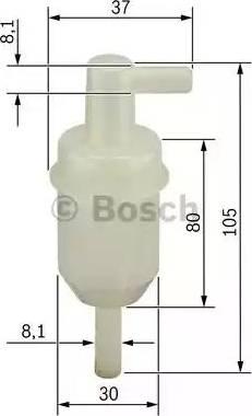 BOSCH 0 450 904 077 - Filtr paliwa intermotor-polska.com
