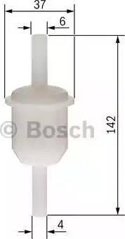 BOSCH 0 450 904 149 - Filtr paliwa intermotor-polska.com