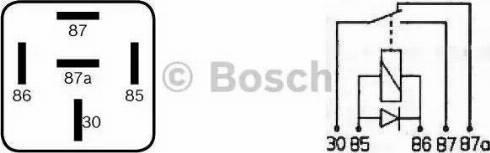 BOSCH 0 332 204 204 - PrzekaYnik wielofunkcyjny intermotor-polska.com
