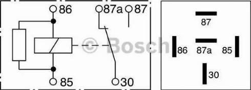 BOSCH 0 332 209 206 - PrzekaYnik, ABS intermotor-polska.com