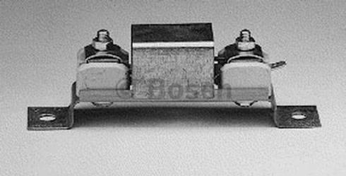 BOSCH 0 251 103 005 - Rezystor obciążeniowy, układ ogrzewania wstępnego intermotor-polska.com