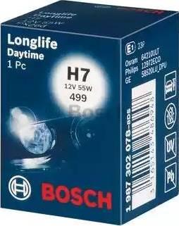 BOSCH 1 987 302 078 - Żarówka, reflektor przeciwmgłowy intermotor-polska.com