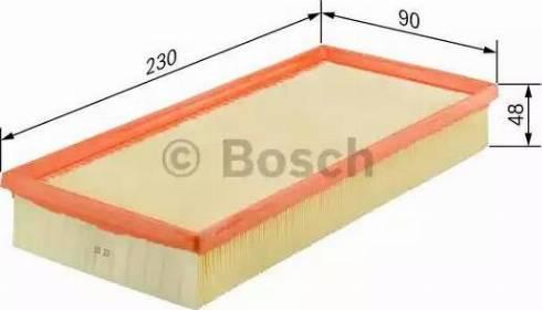 BOSCH 1 457 433 255 - Filtr powietrza intermotor-polska.com