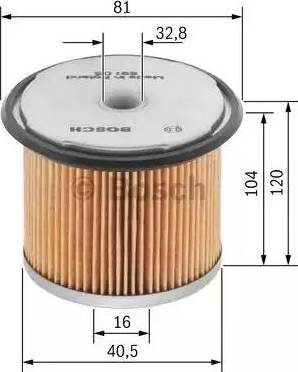 BOSCH 1 457 429 165 - Filtr hydrauliczny, układ kierowniczy intermotor-polska.com