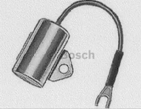 BOSCH 1 237 330 809 - Kondensator, układ zapłonowy intermotor-polska.com