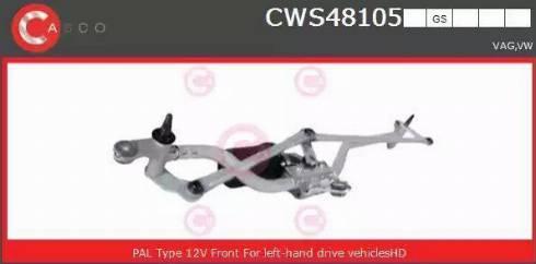 Casco CWS48105GS - Czyszczenie szyb intermotor-polska.com