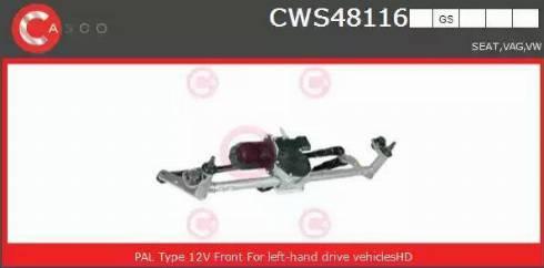 Casco CWS48116GS - Czyszczenie szyb intermotor-polska.com