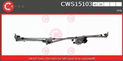 Casco CWS15103GS - Czyszczenie szyb intermotor-polska.com